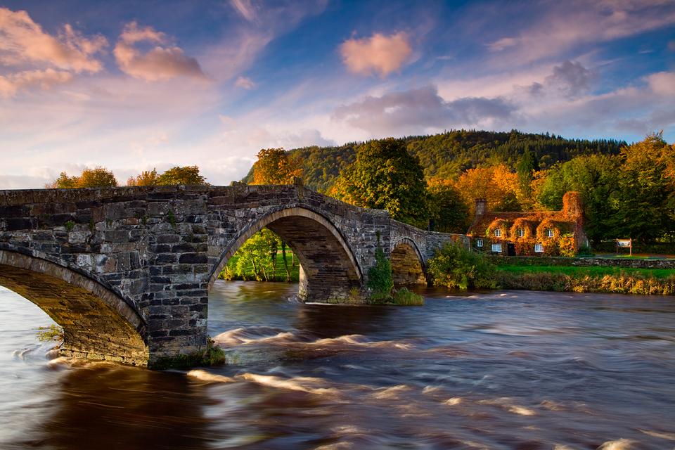 Уэльс, река Конви
