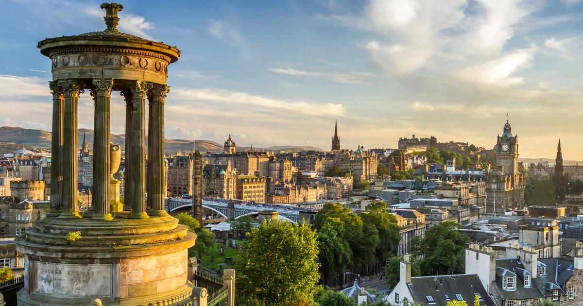 Прекрасный Эдинбург